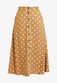 Minimum - SKIRT - A-line skirt - tobacco brown - 3