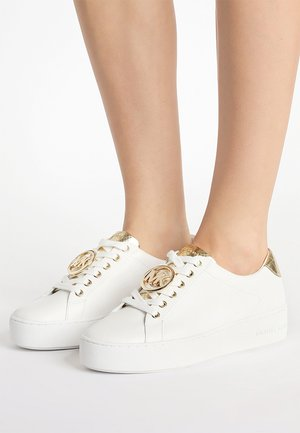 POPPY LACE UP - Zapatillas - optic white