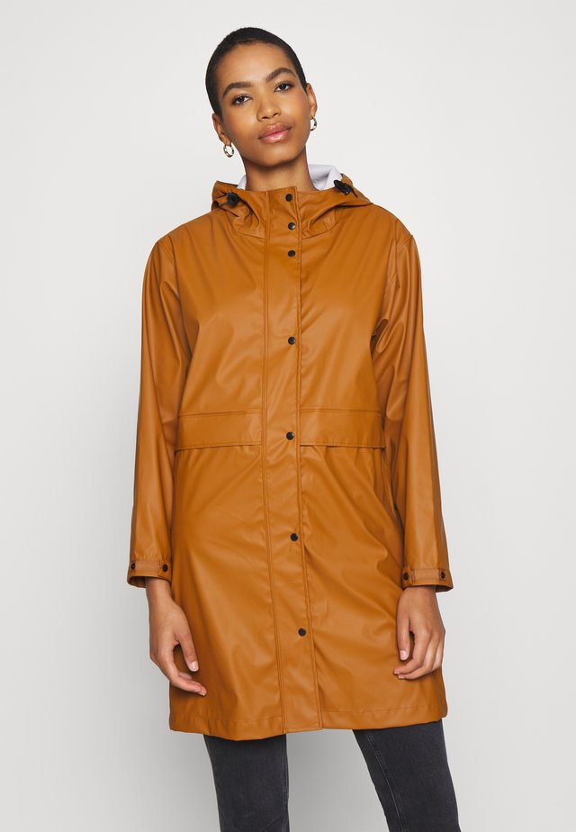 CISSY RAINCOAT - Sadetakki - roasted pecan