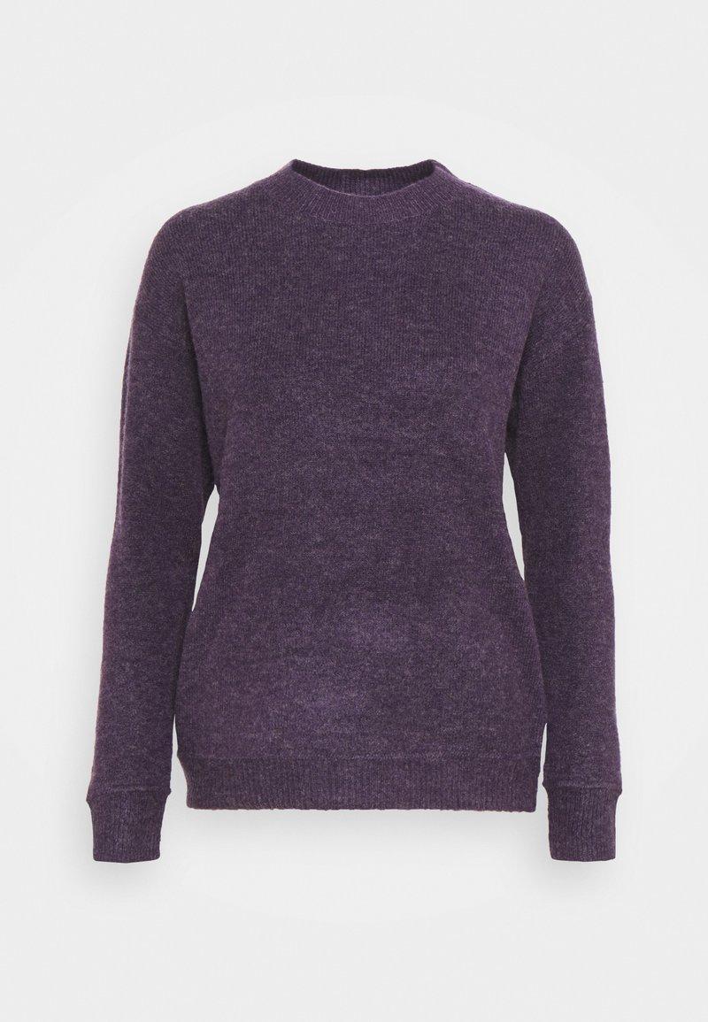 Bruuns Bazaar - HOLLY JOHANNE  - Jumper - purple sky