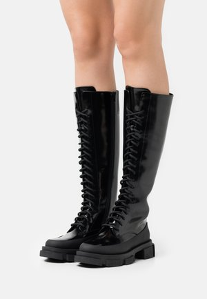 ANFIBIO  - Lace-up boots - nero