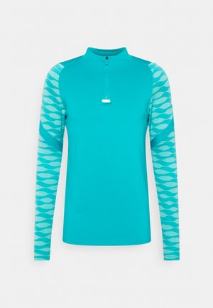 M NK DF STRIKE21 DRIL - Koszulka sportowa - aquamarine/tropical twist/white