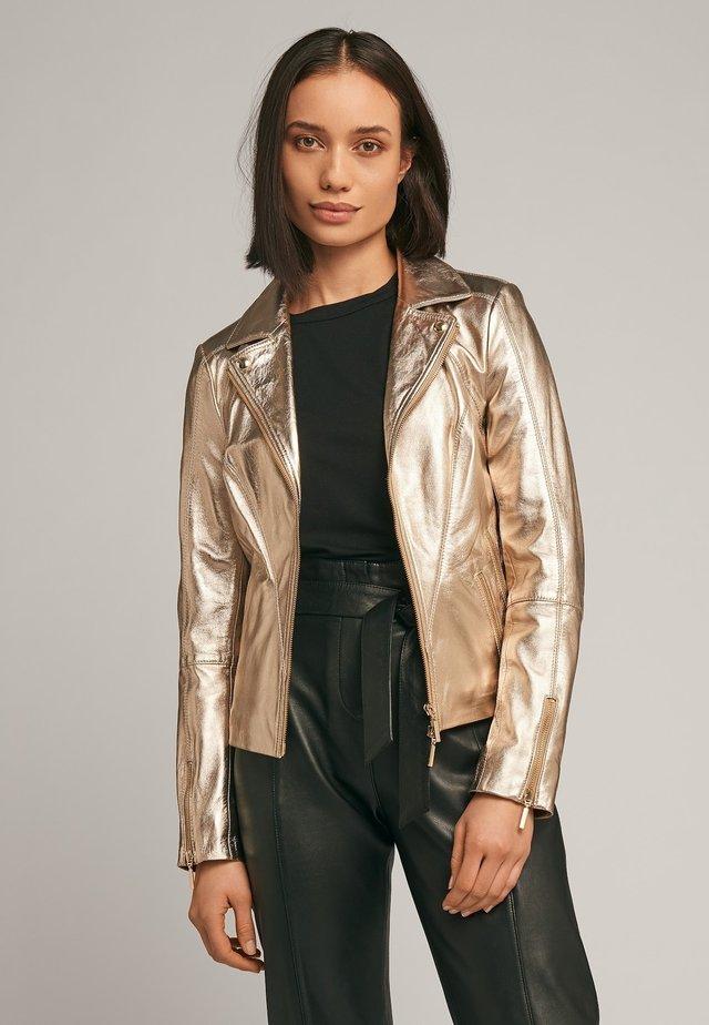 CHERRY  - Leren jas - bronze