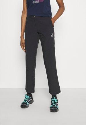 RUNBOLD GUIDE PANTS WOMEN - Ulkohousut - black