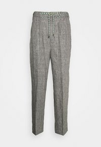 Viktor&Rolf - THE PRINCE OF WALES TROUSERS - Trousers - grey - 0