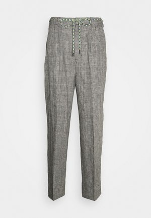 THE PRINCE OF WALES TROUSERS - Trousers - grey