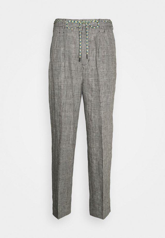 THE PRINCE OF WALES TROUSERS - Pantalon classique - grey