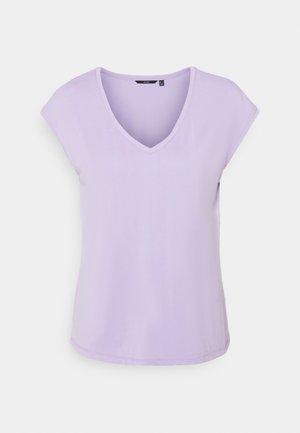 VMFILLI V NECK TEE - Basic T-shirt - pastel lilac