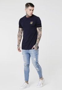 SIKSILK - Jeans Skinny Fit - washed blue - 4