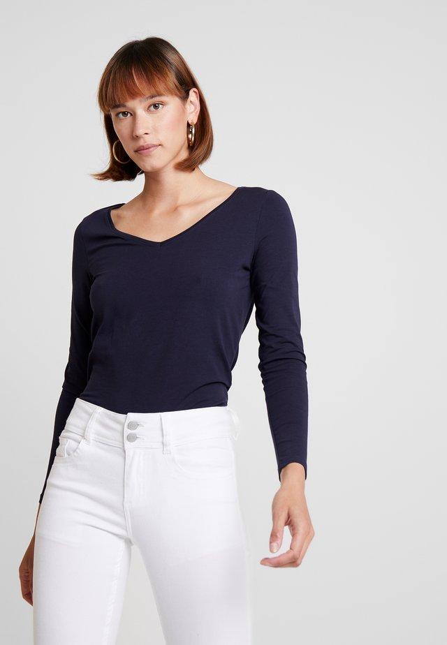 CORE  - Bluzka z długim rękawem - navy