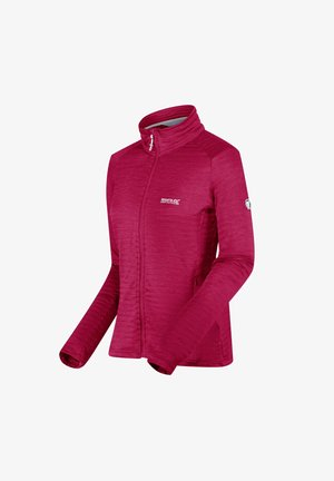 Soft shell jacket - dark cerise