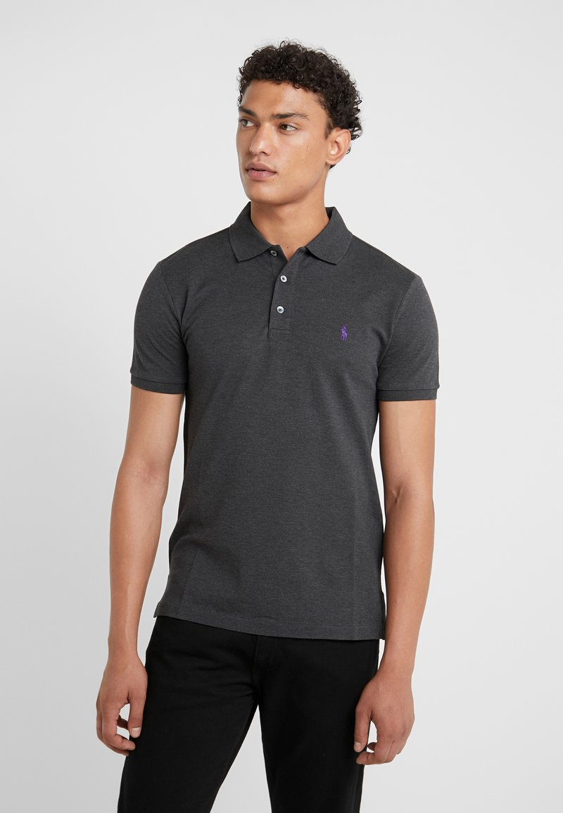 Polo Ralph Lauren - SLIM FIT MODEL - Polo shirt - dark grey heather