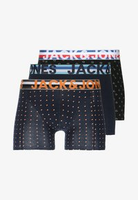 Jack & Jones - JACHENRIK TRUNKS 3 PACK - Bokserit - black/navy blazer