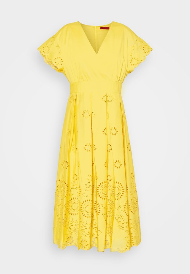 ODE - Robe d'été - sunshine yellow