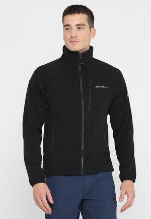 SANDSTONE  - Soft shell jacket - black