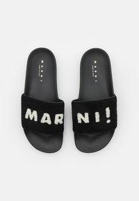 Marni - Pantofle - black/lilywhite - 3