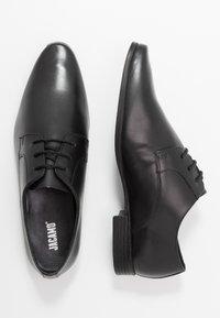 Jacamo - EXTRA WIDE FORMAL DERBY - Business sko - black - 1