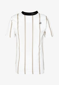 DAILY BASIS  - T-shirt con stampa - white