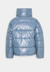 Glamorous Petite - PUFFER JACKET WITH SIDE DRAWSTRINGS - Winter jacket - blue - 1