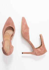 Bianco - BIACAIT ANKLE STRAP - High heels - powder - 3