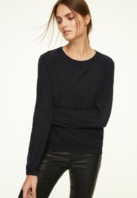 comma casual identity - Long sleeved top - black - 0