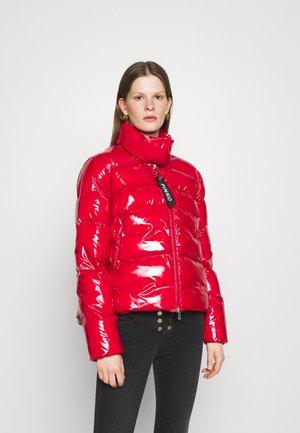 MIRCO CABAN CRYSTAL  - Winter jacket - red