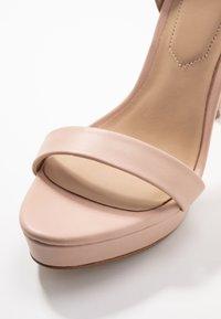 ALDO - VARALITH - High heeled sandals - bone - 2
