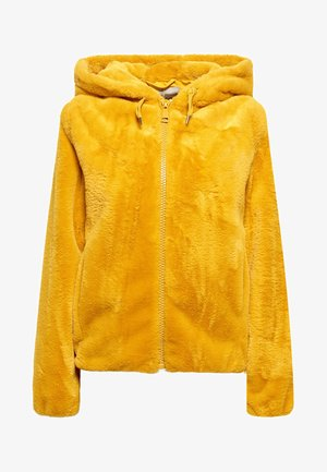 Winter jacket - amber yellow