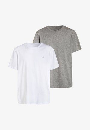 2 PACK   - Undershirt - white/grey