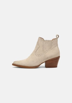 JUKESON - Cowboy/biker ankle boot - sand