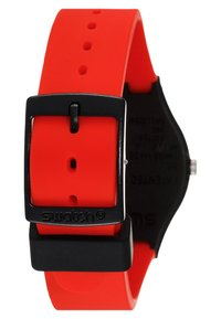 Swatch - RED GRIN - Klocka - black - 3