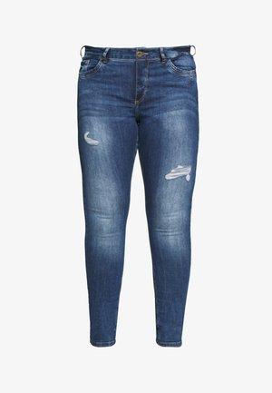 AMY - Jeans slim fit - dark blue denim
