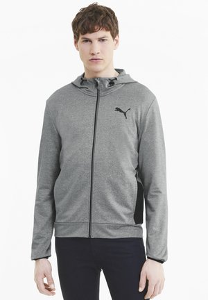 RTGFZ - Zip-up hoodie - medium gray heather