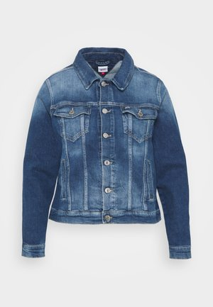 TRUCKER JACKET - Džínová bunda - blue denim