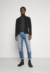 Strellson - OSCO - Leather jacket - black - 1
