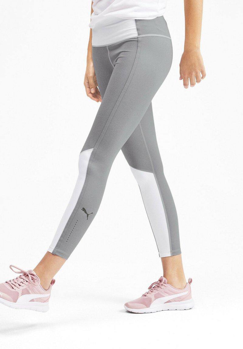 Puma - Leggings - light gray heather