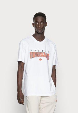 SCRIPT TEE - T-shirt med print - white