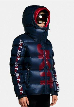 PRIMETIME  - Down jacket - ink/red