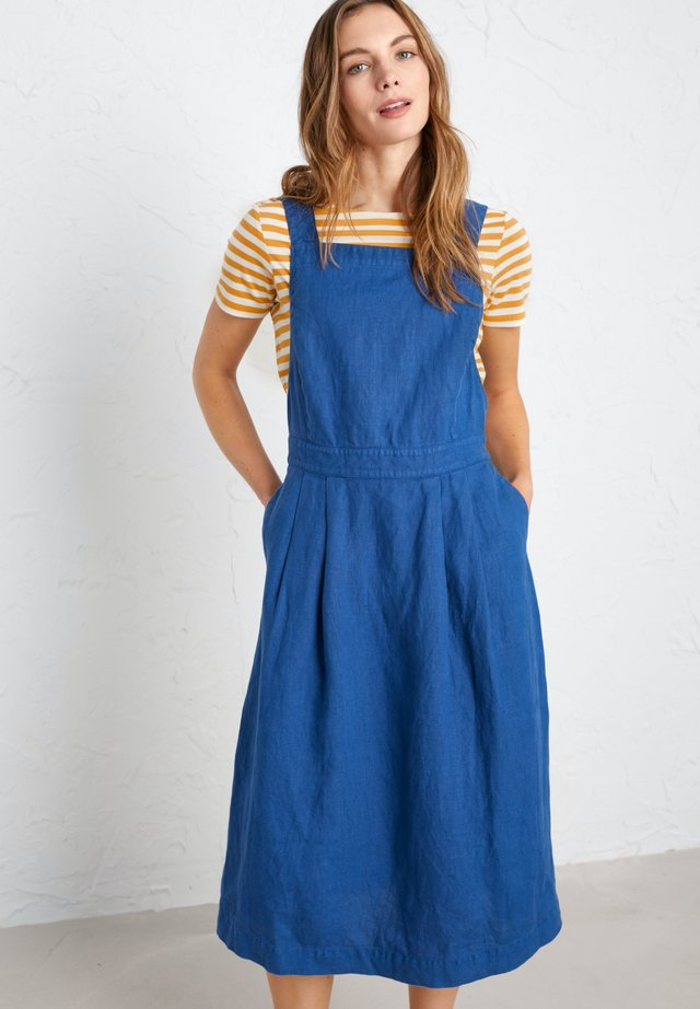 SEA QUEST DRESS - Jeansklänning - blue