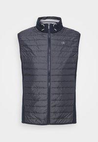 Calvin Klein Golf - WRANGELL HYBRID GILET - Waistcoat - navy - 4