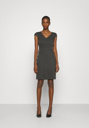 Jersey dress - dark grey melange