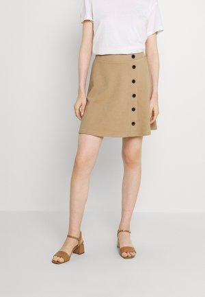 SOFIA SKIRT - A-line skirt - tannin melange