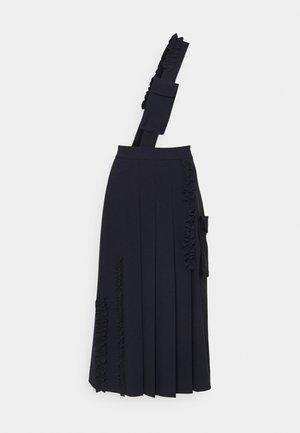 SKIRTS BAG - Spódnica trapezowa - blue notte