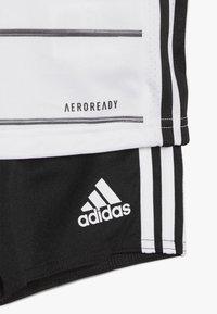 adidas Performance - DEUTSCHLAND DFB HEIMTRIKOT BABYKIT - Pelipaita - white/black - 4