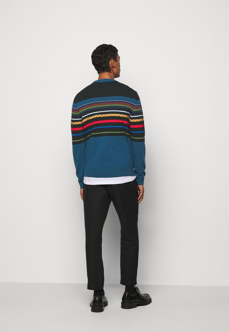 PS Paul Smith MENS PULLOVER CREW NECK - Strickpullover - black/schwarz ntDpWh