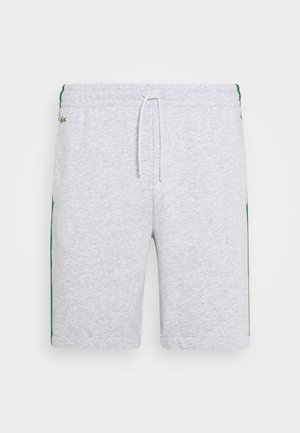 SHORT - Träningsshorts - silver chine/navy blue/ultramarine/green/white