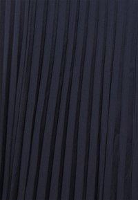 J.CREW - WENDY SKIRT SOLID - Plisovaná sukně - navy - 2