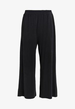 MOULAN - Kalhoty - black