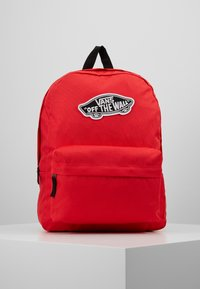 Vans - REALM BACKPACK - Reppu - poppy red - 0