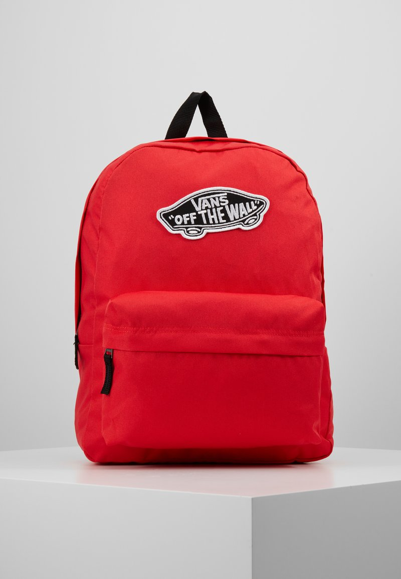 Vans - REALM BACKPACK - Reppu - poppy red